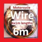 Motorcycle Wire Kit (6 colours x 1m) - Honda CB450